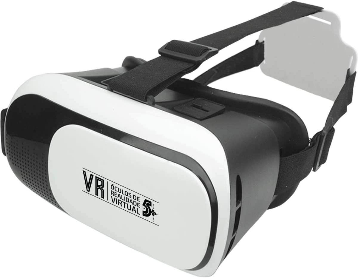 Óculos - Realidade Virtual VR 5+