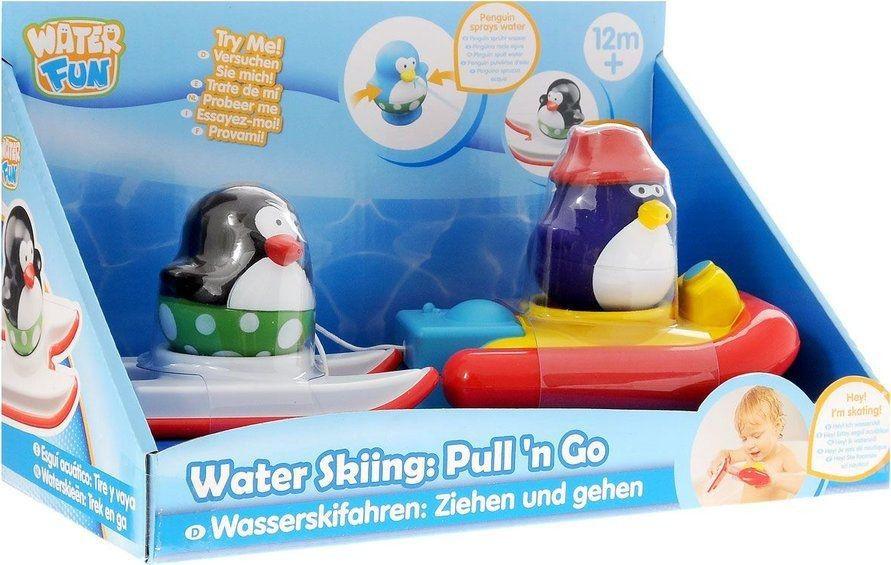 Pinguim Esquiador Aquático