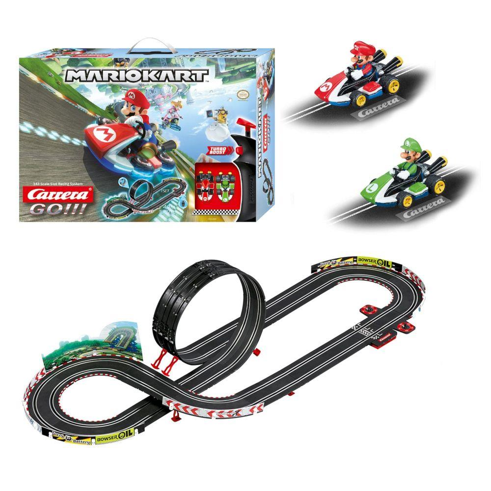 Pista de Autorama - Carrera GO!!! - Mario Kart 4,9 m - 1:43 - Carrera