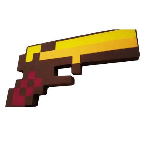 Pistola Do Jogo Ouro - Zr Toys