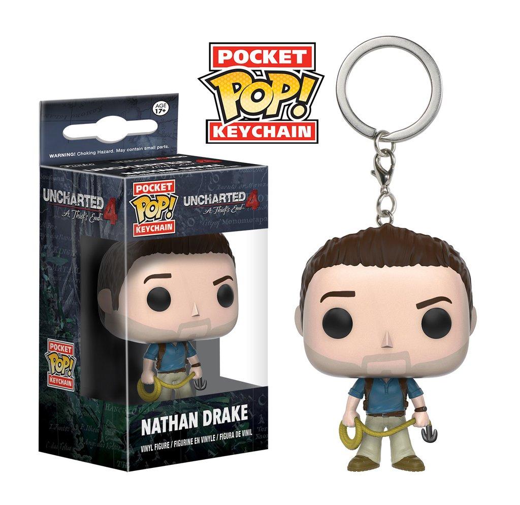 Pocket Pop! Keychain: Uncharted - Nathan Drake