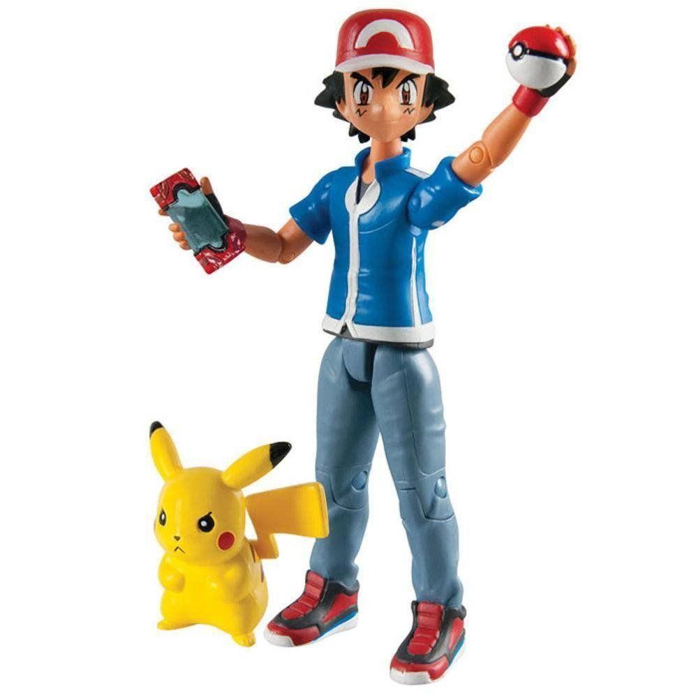 Pokemon Ash E Pikachu - Tomy