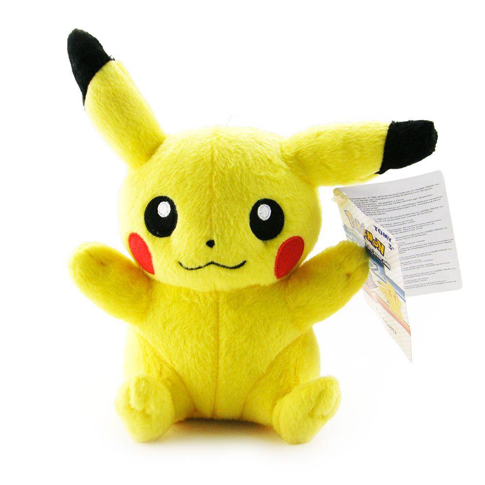 Pokémon-Pelúcia Pikachu - Tomy