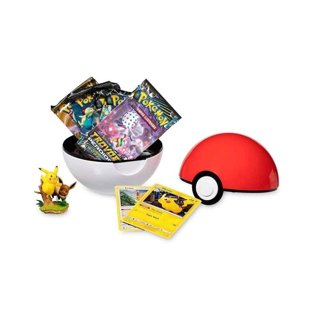 Pokémon Poké Bola Pikachu e Eevee