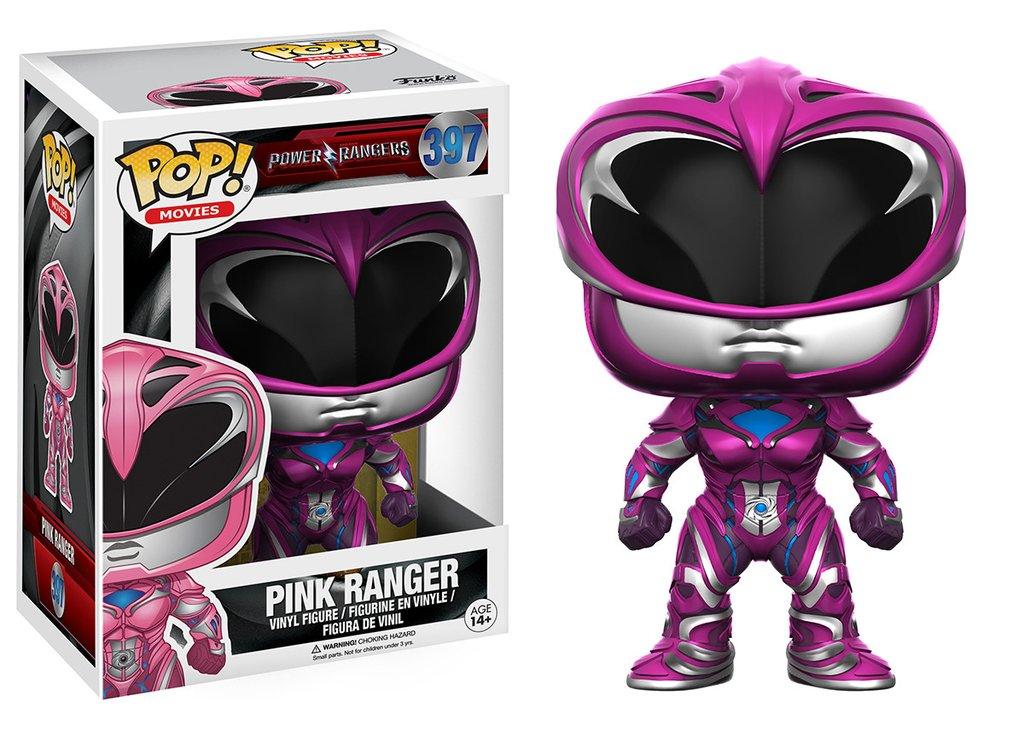 Power Rangers - Pink Ranger ( Rosa ) Funko Pop Movies