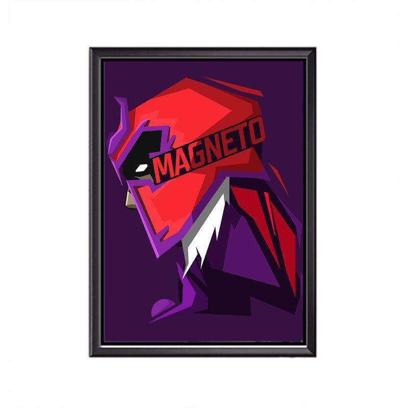 Quadro Poster Minimalista Face Magneto