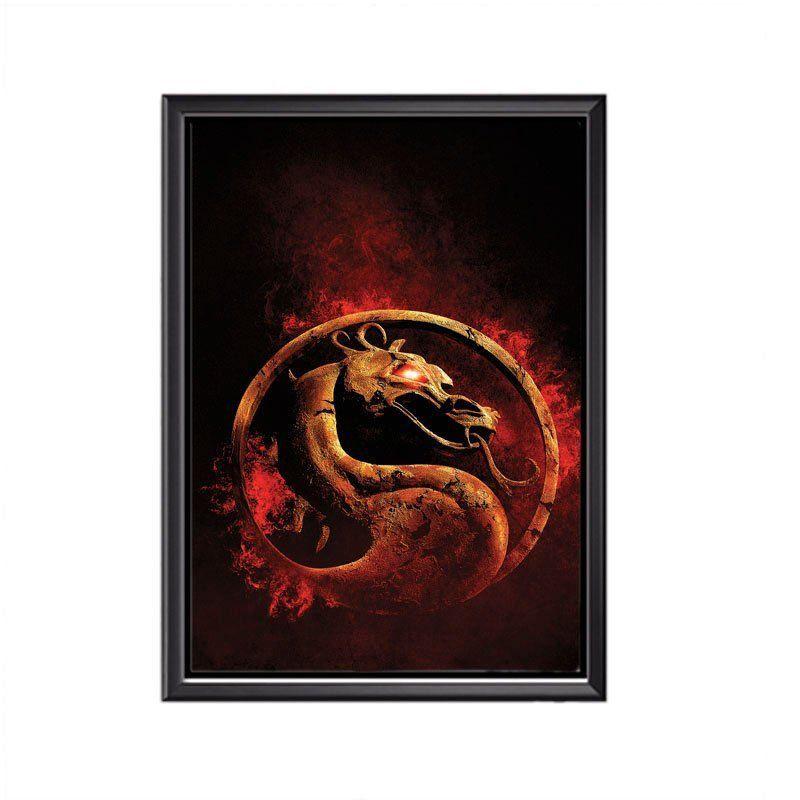 Quadro Poster Mortal Kombat
