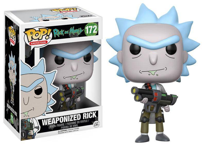 Rick And Morty - Weaponized Rick - Funko Pop Animation