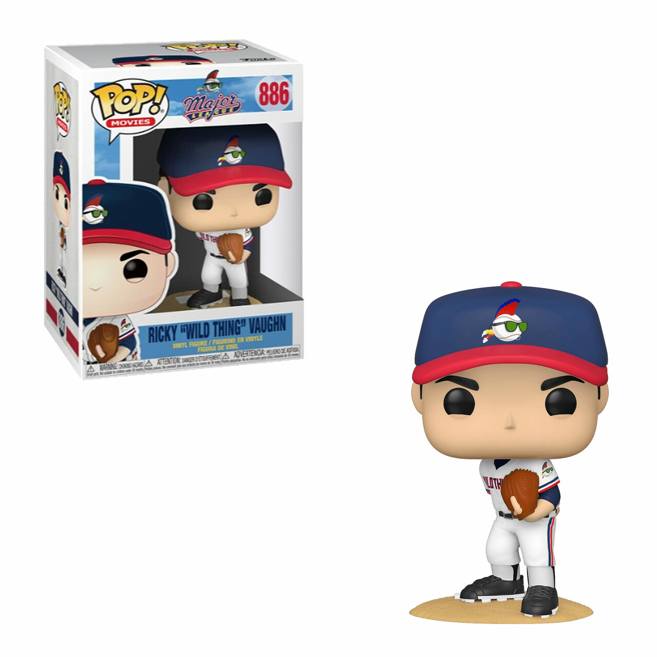 Ricky Vaughn (Major League) Funko Pop!