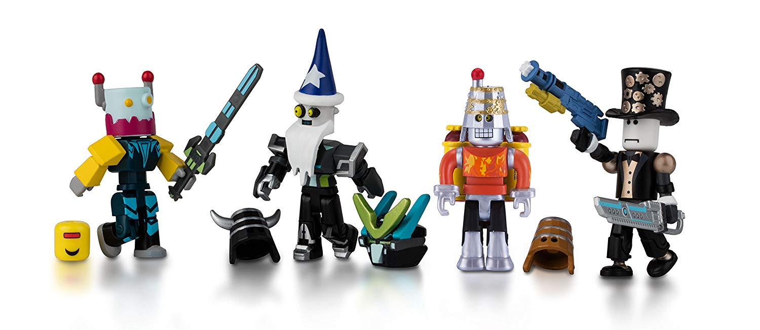 Roblox Mix & Match Robot Riot Figure 4 - Pack Set