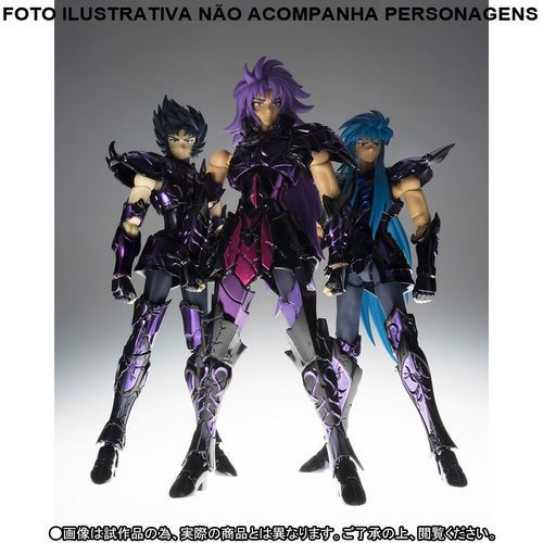 Set de Armaduras Saint Seiya Broken Surplice Cloth Myth EX Cavaleiros do Zodíaco Bandai