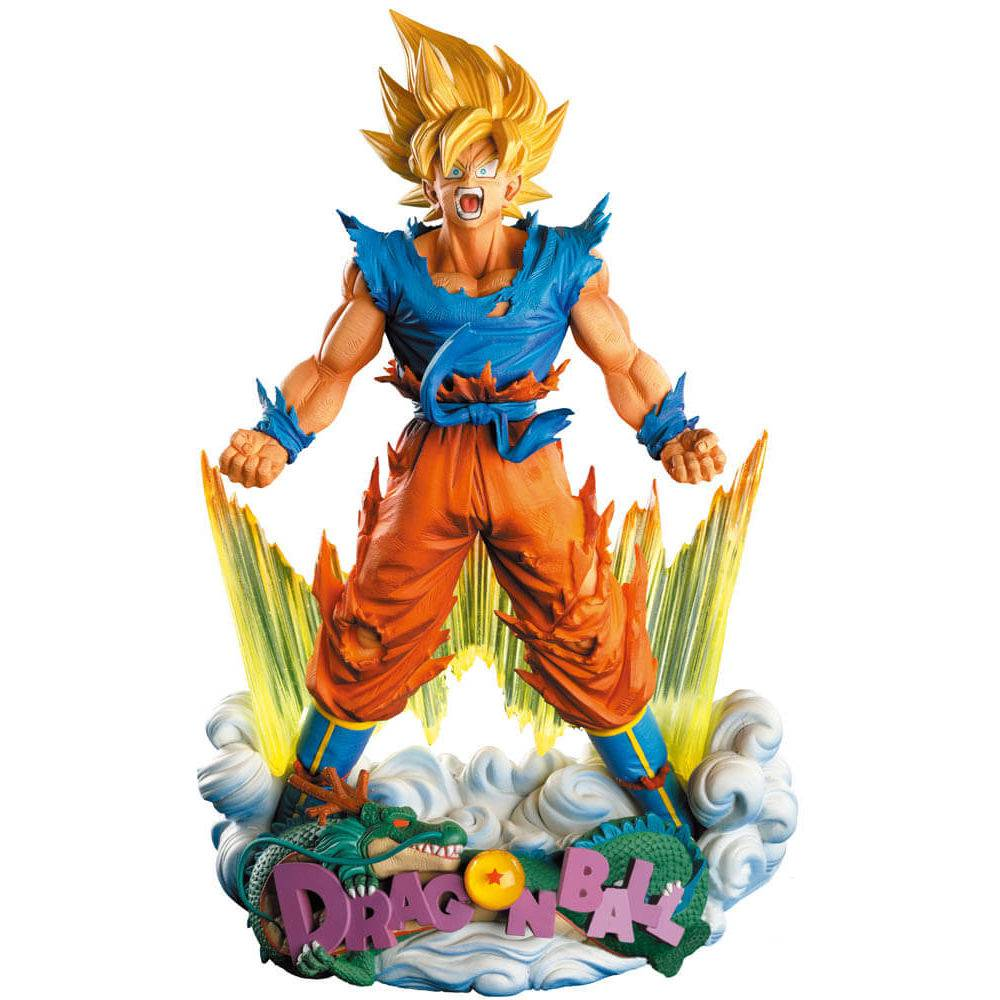 Son Goku (The Brush) - Dragon Ball Z - Super Master Stars Diorama - Banpresto