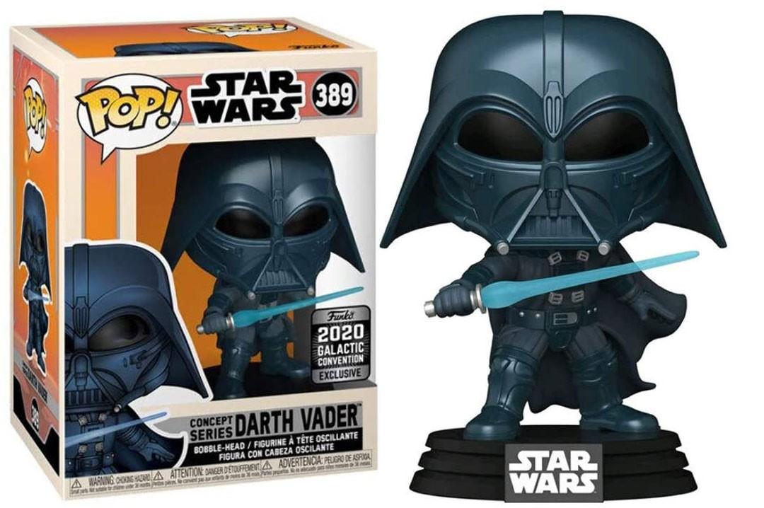 Star Wars Darth Vader Concept Galacticon Exclusive Funko Pop