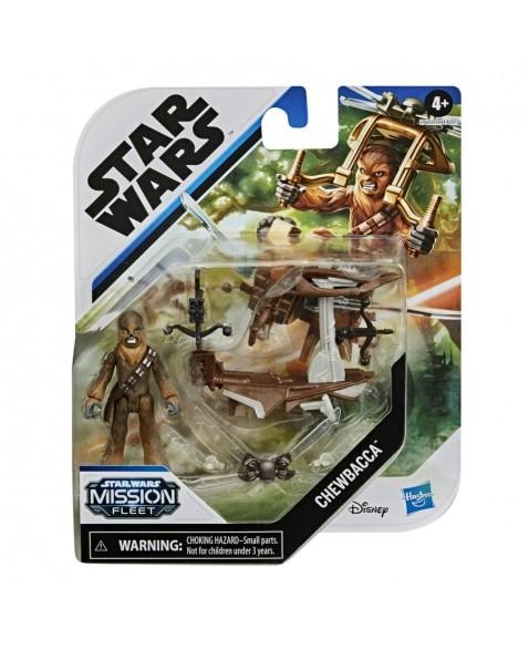 Star Wars Mini Figura Mission Fleet Chewbacca - Hasbro
