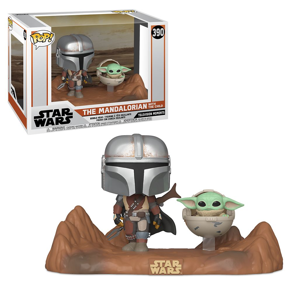 Star Wars The Mandalorian With The Child Television Moments Funko Pop