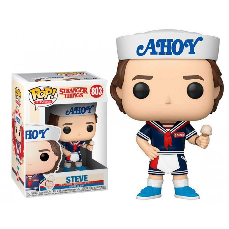 Stranger Things Steve Funko Pop