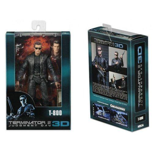 Terminator T-800 - Action Figure Terminator 2 3D / Exterminador do Futuro - Neca