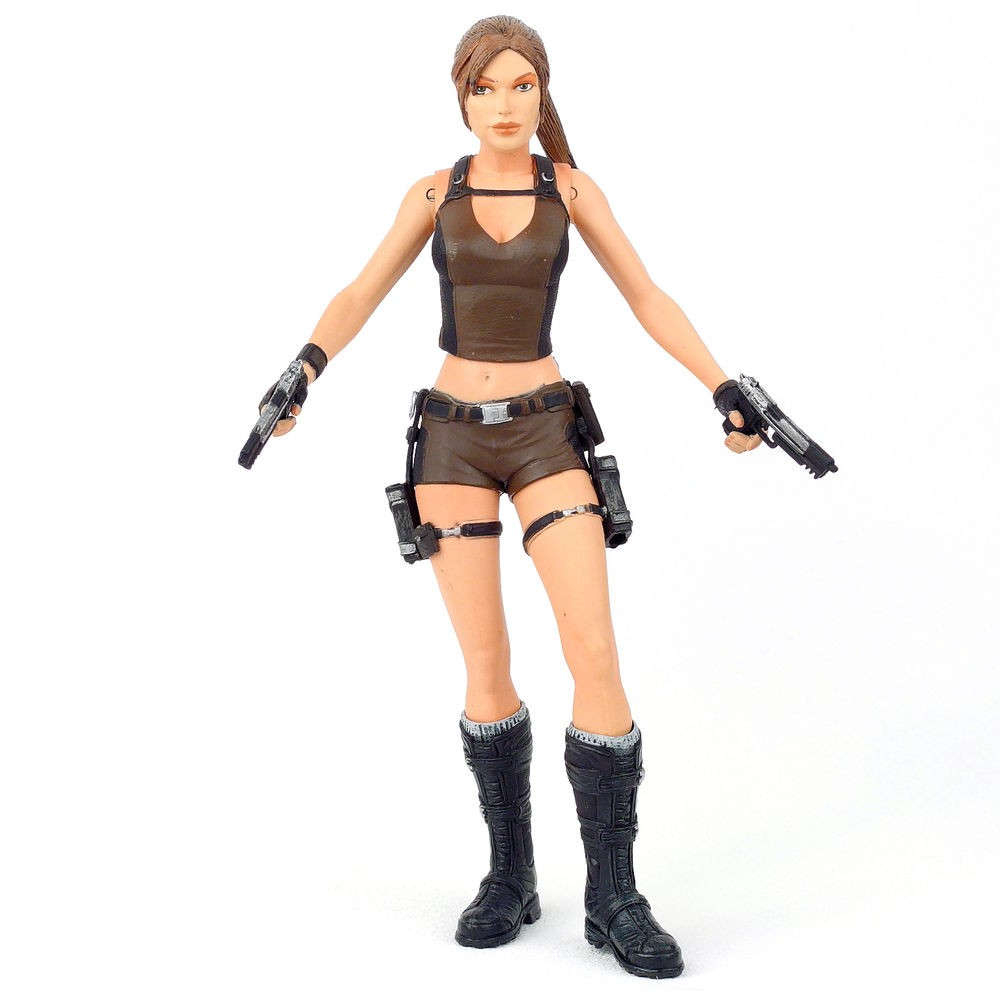 Tomb Raider Underworld Lara Croft Figura De Ação