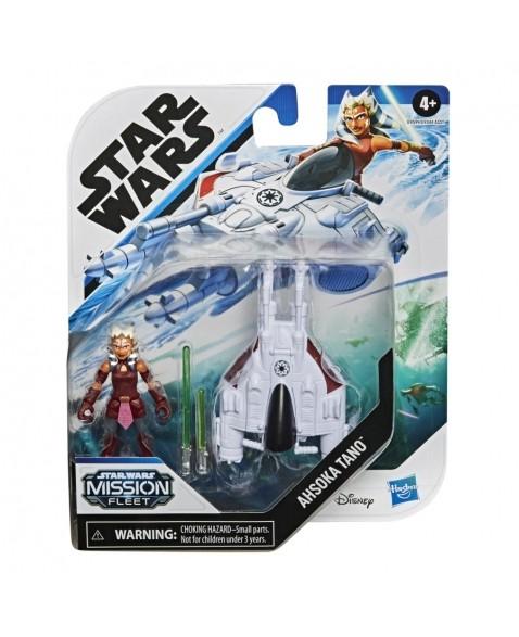 Veículo e Mini Figura Articulada - Disney - Star Wars - Mission Fleet - Ahsoka Tano - Hasbro