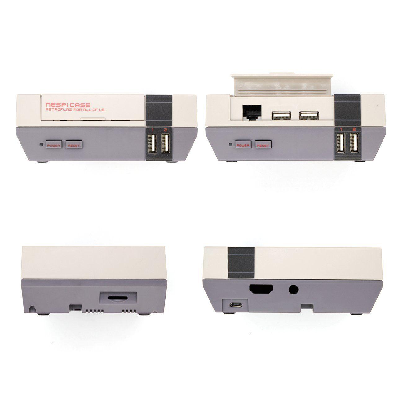 Vídeo Game Retro com 14 MIL Jogos 32GB com Case Retroflag Nespi Original