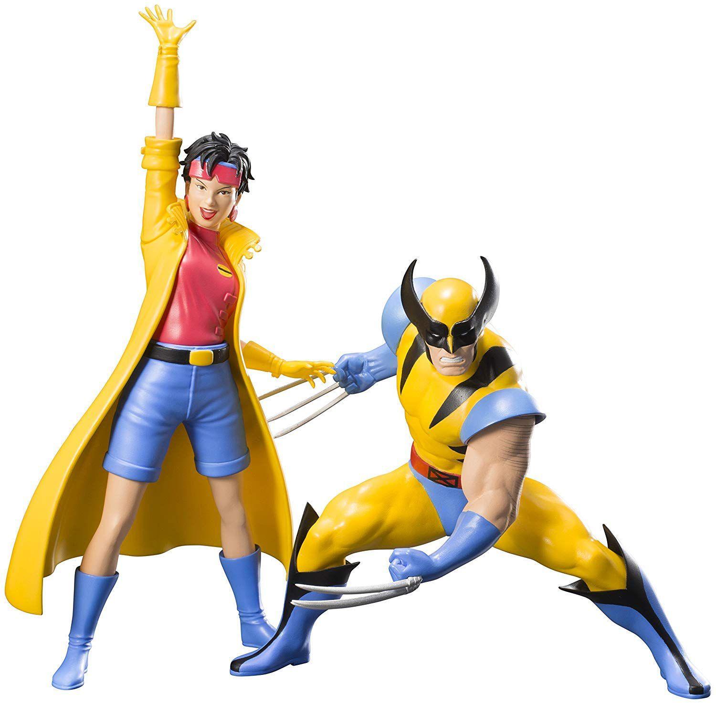 Wolverine & Jubilee X-men 92 - Artfx+ Statue Kotobukiya