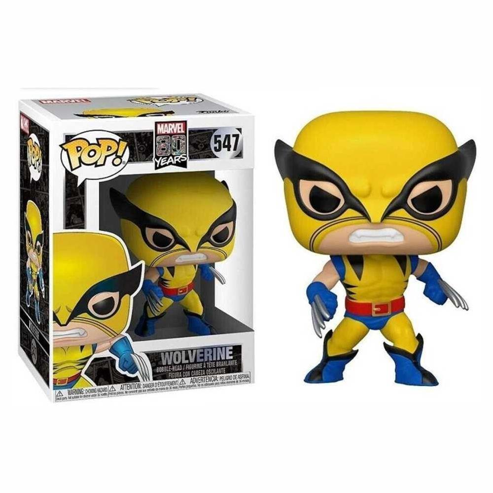 Wolverine - Marvel 80 Anos Funko POP!