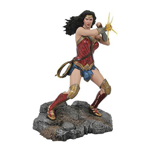 Wonder Woman Bracelets - Mulher Maravilha Justice League Movie - Diamond - Dc Gallery Diormama