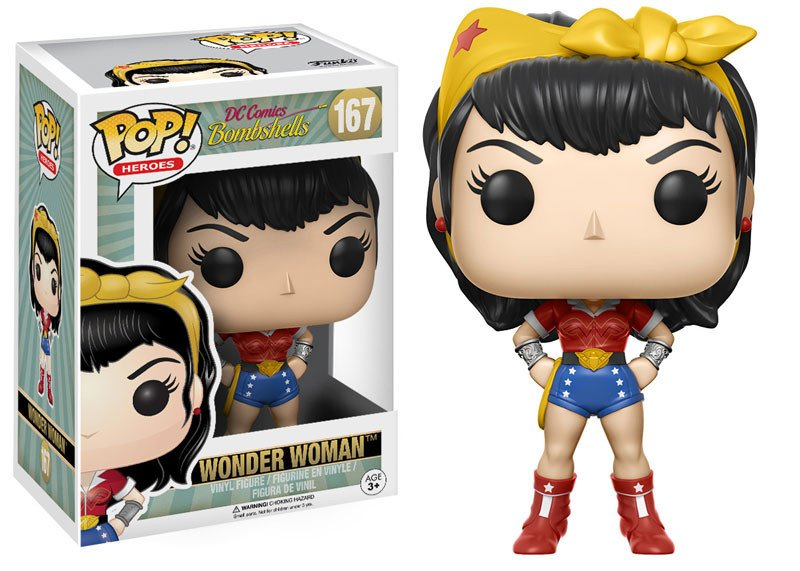 Wonder Woman Mulher Maravilha - Dc Bombshells - Funko Pop
