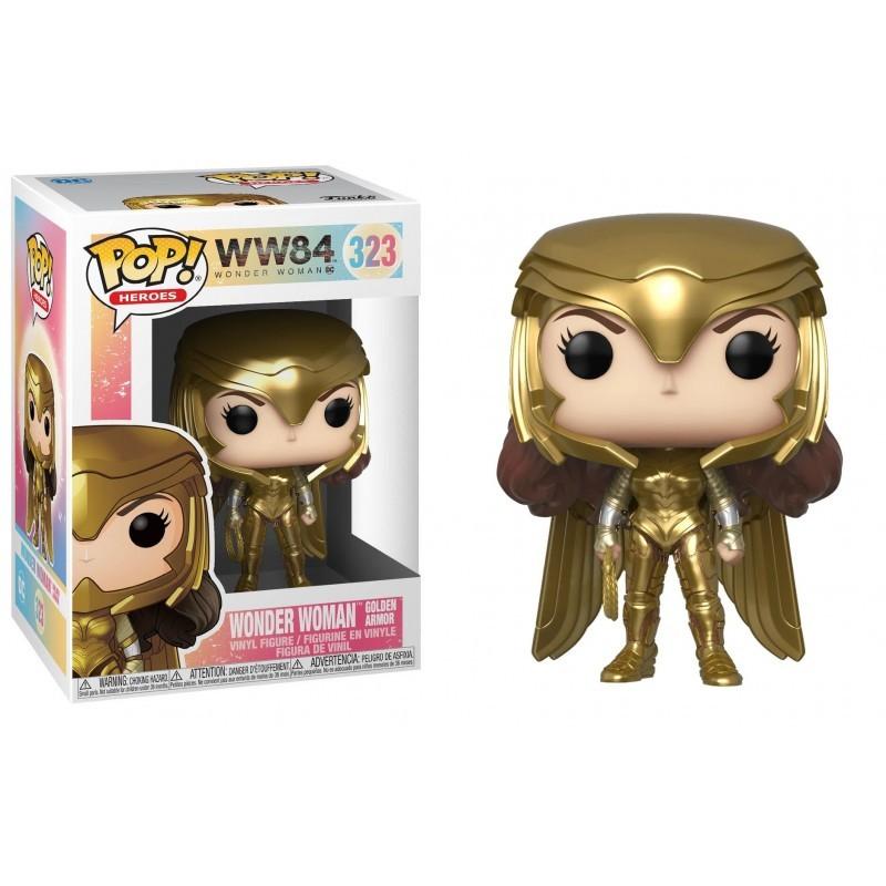 Wonder Woman Mulher Maravilha - Gold Power Ww84 - Funko pop