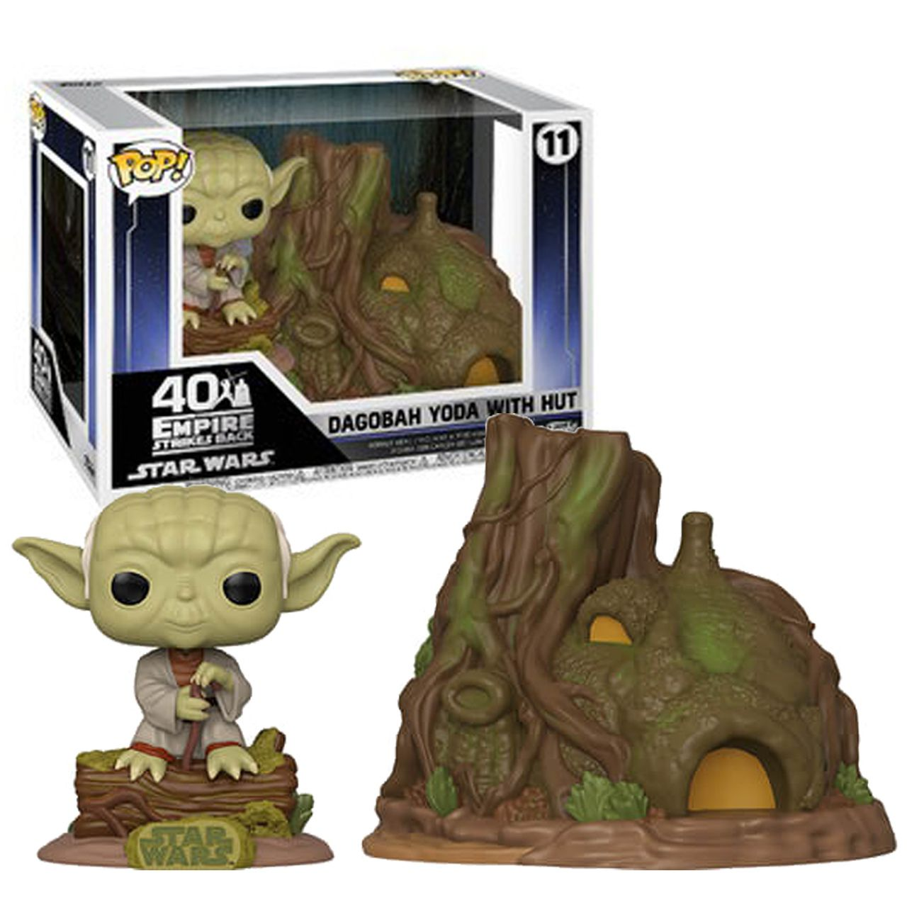 Yoda Dagobah With Hut Star Wars - Funko Pop 11