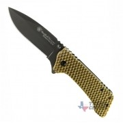 CANIVETE SMITH & WESSON EXTREME OPS MANUAL - CKG20BR