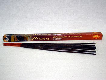 Incenso indiano com essência aromática (MIRRA) -cod.746