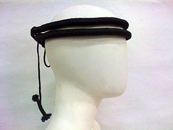 Cordão para turbante preto, modelo clássico (ikal, agal) Ref.504