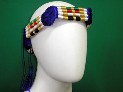 Cordão para turbante colorido (ikal, agal) Ref.518