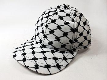 Boné estilizado com a Kafieh Palestina. cod.29