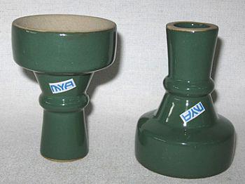 Recipiente para tabaco de porcelana da MYA, tipo fêmea -cod.459