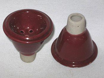 Recipiente para tabaco de cerâmica, tipo macho - cod.876