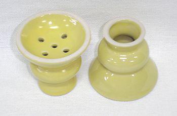 Recipiente para tabaco de porcelana pequeno (queimador) cod.670