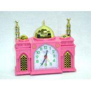 Relógio em forma de Mesquita com AZAN (Pequeno) -cod.565