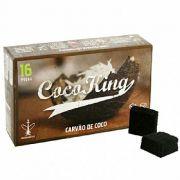 Carvão para Narguile Coco King (caixa com 16 peças) cod.392