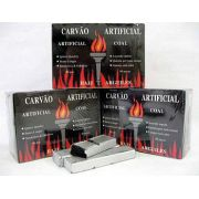 Carvão pastilha para Narguile e Incenso. Alta qualidade. Promoção 3 caixas com 80 unidades . cod.834