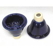 Recipiente para tabaco de cerâmica, tipo macho - cod.672