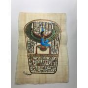 Papiro Egípcio original com temas Faraônicos, 40x30 cm. Ref.02