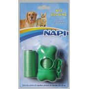 Kit Higiene Cata Caca Para Guia De Cães E Gatos