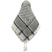 Lenço Árabe Palestino, Kafieh, Shemagh  original com franjas alta textura Ref.33
