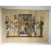 Papiro Egípcio original com temas Faraônicos – Ref.106