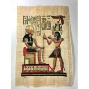 Papiro Egípcio original com temas Faraônicos – Ref.79