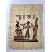 Papiro Egípcio original com temas Faraônicos – Ref.82