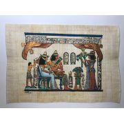 Papiro Egípcio original com temas Faraônicos – Ref.87