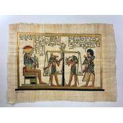 Papiro Egípcio original com temas Faraônicos – Ref.89